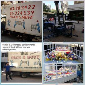 Pack & Move transportation