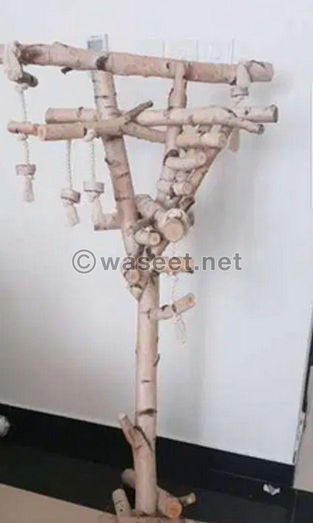 Parrot tree stand 138 cm tall