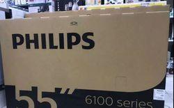"""Philips 55"""" smart 4K uhd"""
