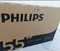 "Philips 55"" smart 4K uhd ultra hd LED TV"