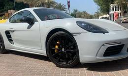 Porsche Cayman 718 2018