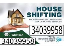 Professional Service house packing Moving Shifting