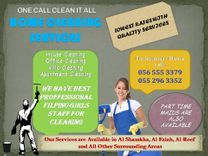 Professional villa's cleaning team available in Abu Dhabi