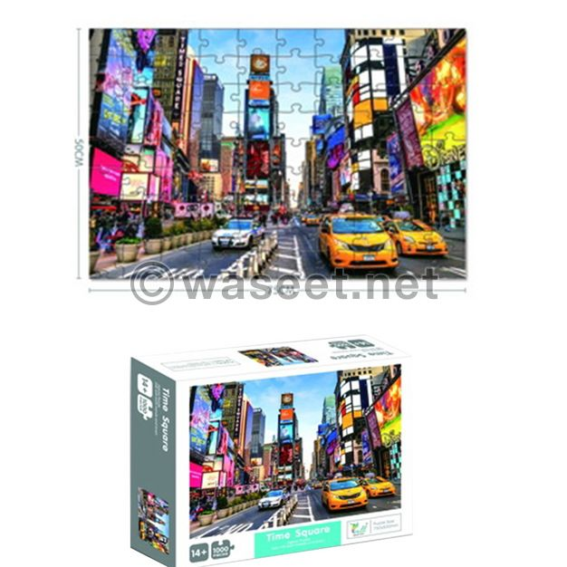 Puzzle 1000pc New York Edition