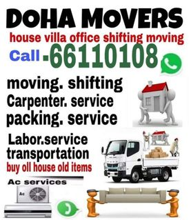 Qatar Shifting Moving Pickup Service Please Call Me Anytime