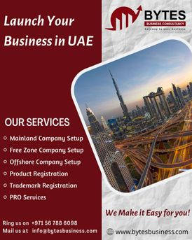 Ready to start a new business in Dubai, UAE