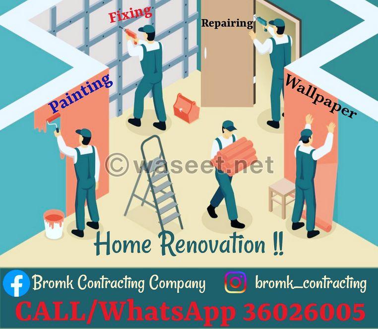 Renovation and Maintenance