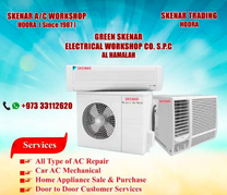 Repair repair all type Ac