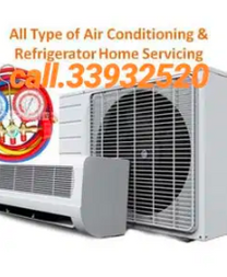 Repair service work shop all type ac