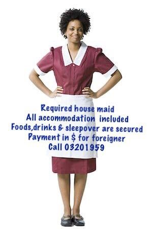 Required Housemaid