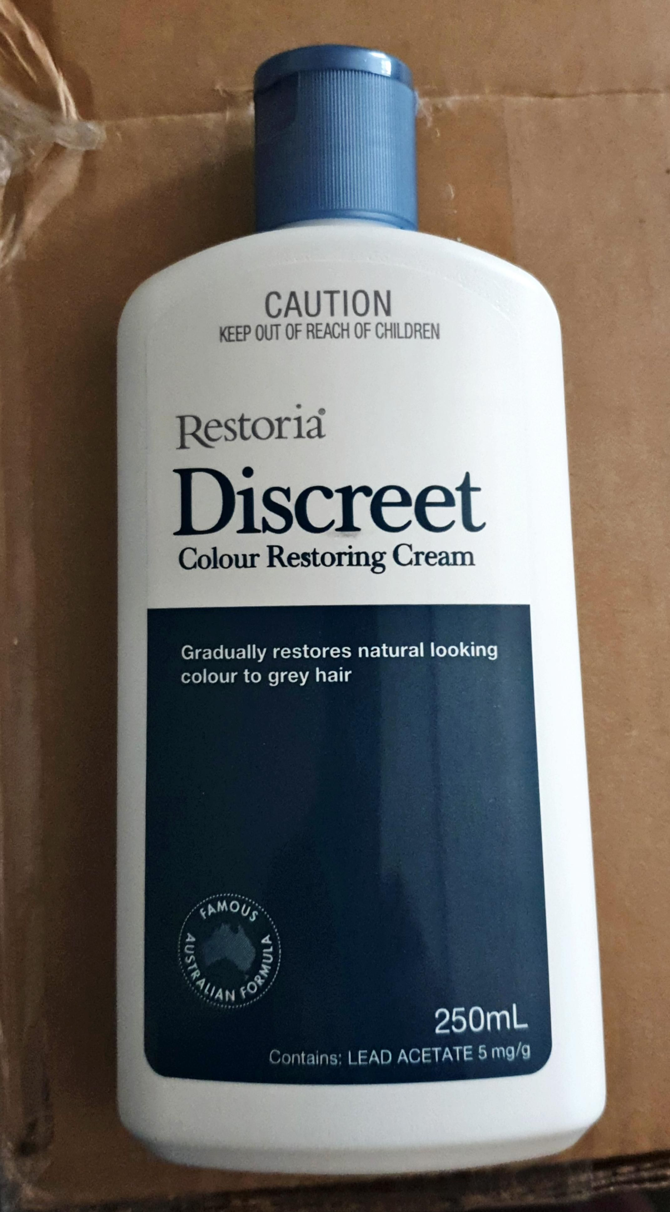 Restoria Discreet color restoring cream