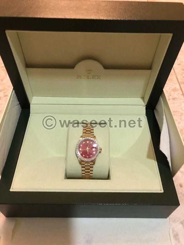 Rolex Rare Datejust Womens Watch