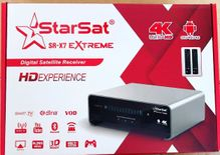 STARSAT Sr X7 PRO Android box full 4k