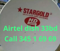 Satellite dish Airtel hindi