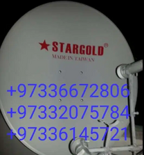 Satellite dish new fixing