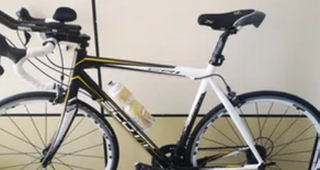 Scott carbon road bicycle