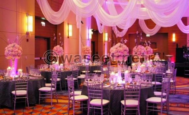 Services of event and party planning