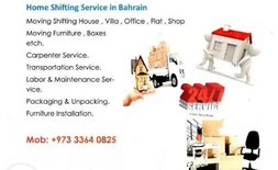 Shifting services in Bahrain
