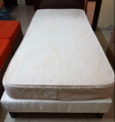 Single Bed and Orthopedic Mattress