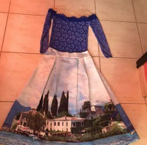 Skirt with Top size Medium