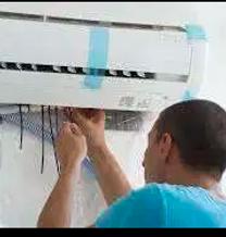 Split AC window AC service gas charging
