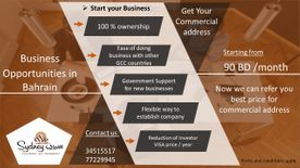 Start your business in Bahrain
