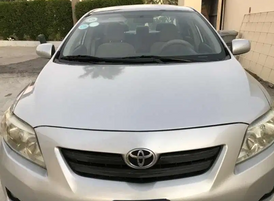 Toyota Corolla Model 2008