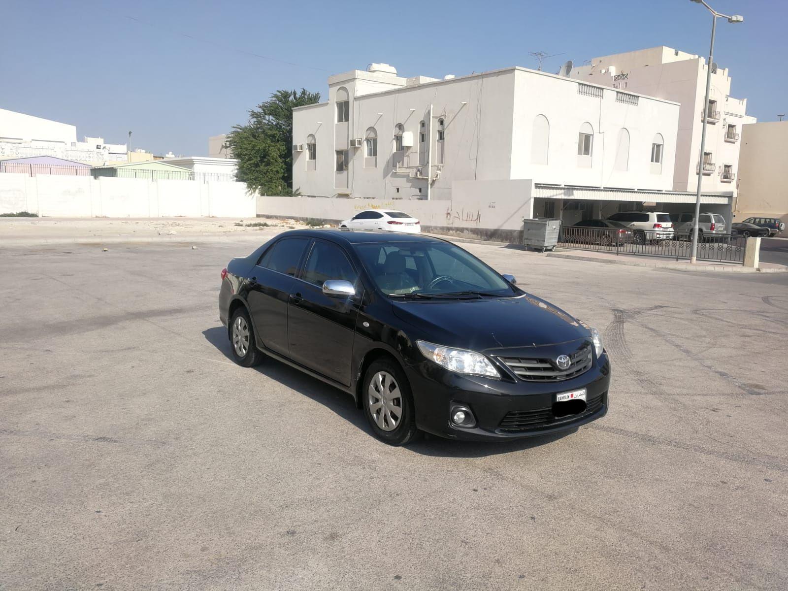 Toyota Corolla XLI 2012 (Black)