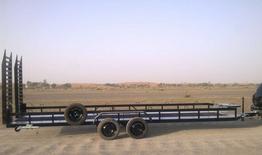 Trailer for quad bikes