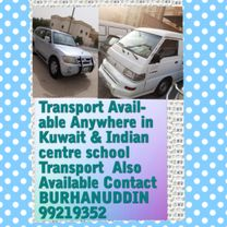 Transport Available Anywhere in Kuwait