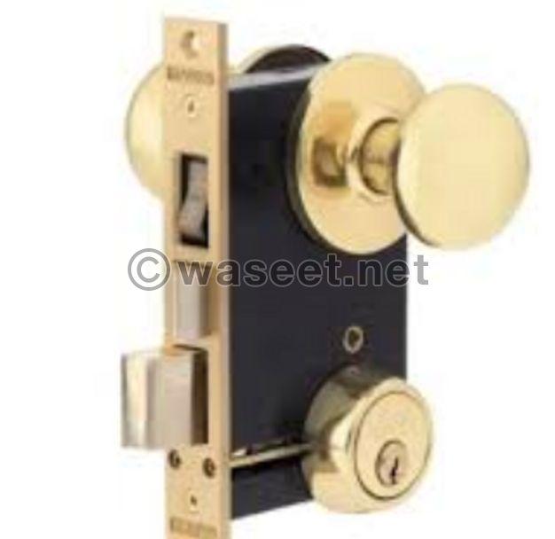 Unpack and install the locks
