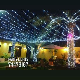 WEDDING AND PARTY LIGHTING SERVICE