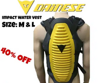 Water back Protection armor/vest NEW