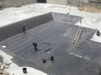 Water proofing works
