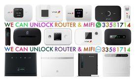 We Doing WiFi Router Sim Card. Unlocking. All Operators Sim Card STC, Zain, Viva ,Batelco