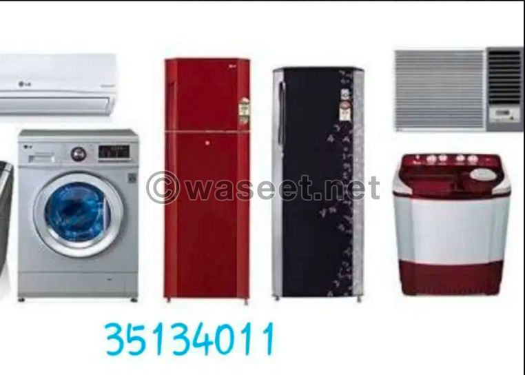 We are repair ac washing