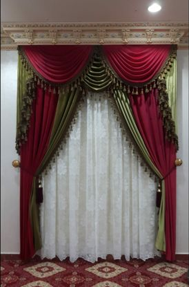We make All kinds of new curtain