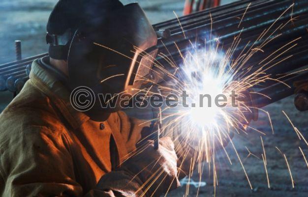 Welding and blacksmithing