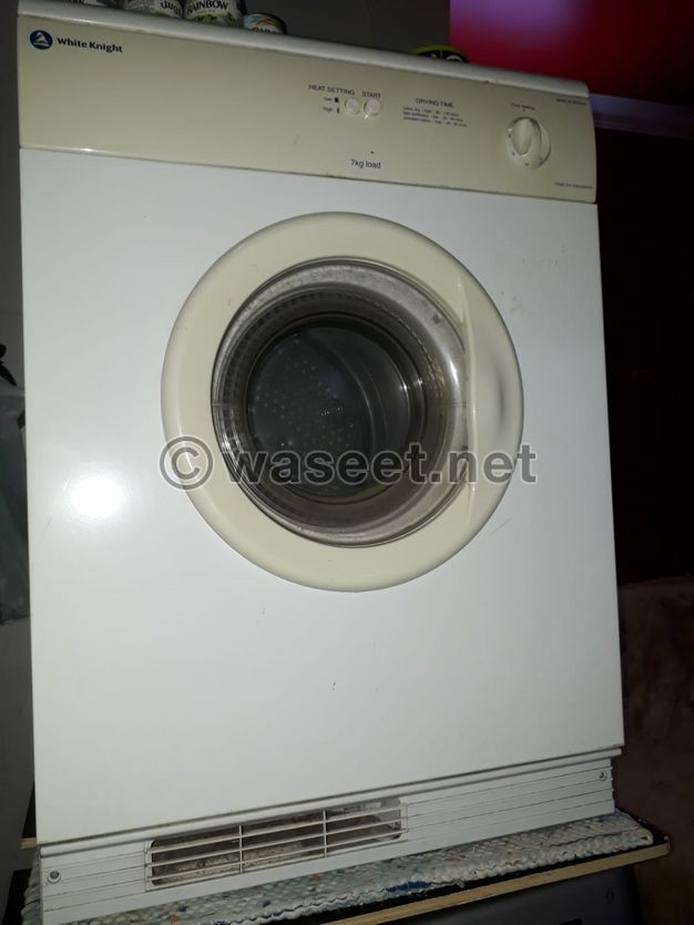 White knight clothes dryer for sale