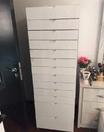 Wooden drawer shelf