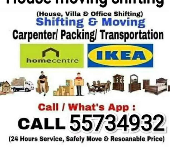 Qatar movers and Packers transports service call 4
