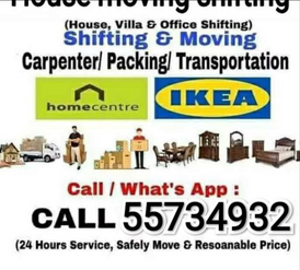 Qatar movers and Packers transports service call 6