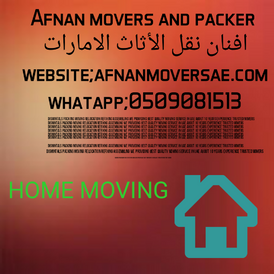 afnan movers and packers shifting