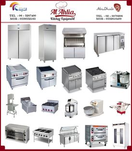 Supplying, installing and maintaining all kitchen and restaurant equipment