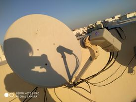 all kinds of dish TV receiver sale work