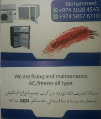 any kind of air condition washing mashing