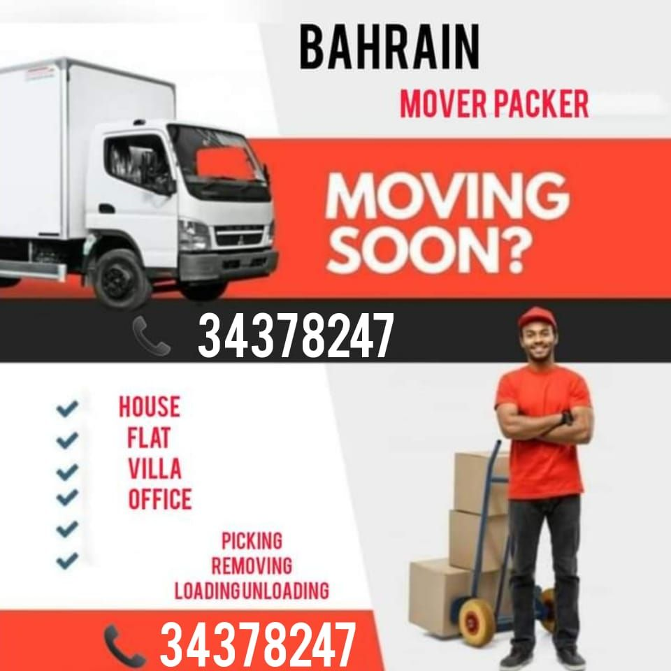 Bahrain house shifting and packing
