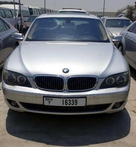 bmw 750 2008  للبيع