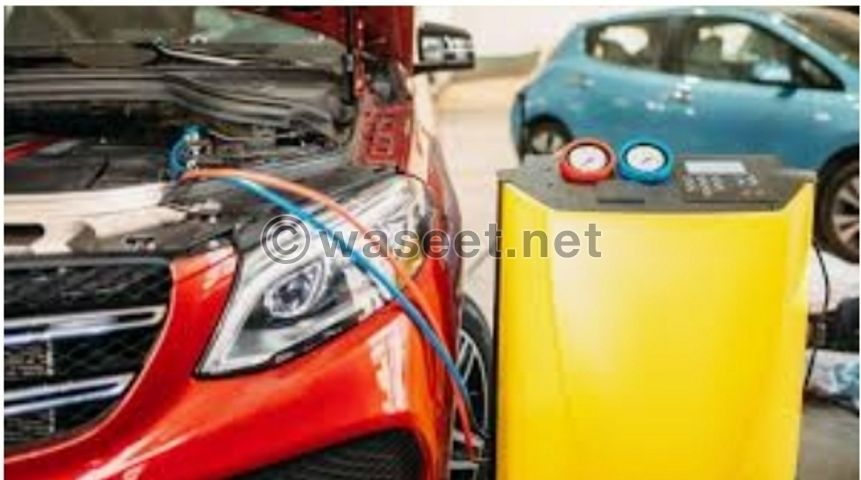 car A/C repair and service 1