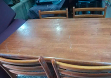 chairs + dining table for sale